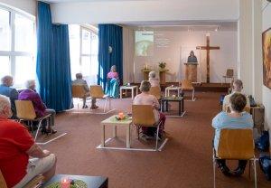 Saal der Evangelischen Gemeinschaft München-Stadtmitte